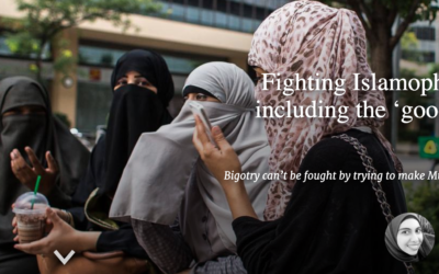 Fighting Islamophobia means including the 'good' and 'bad' Muslims